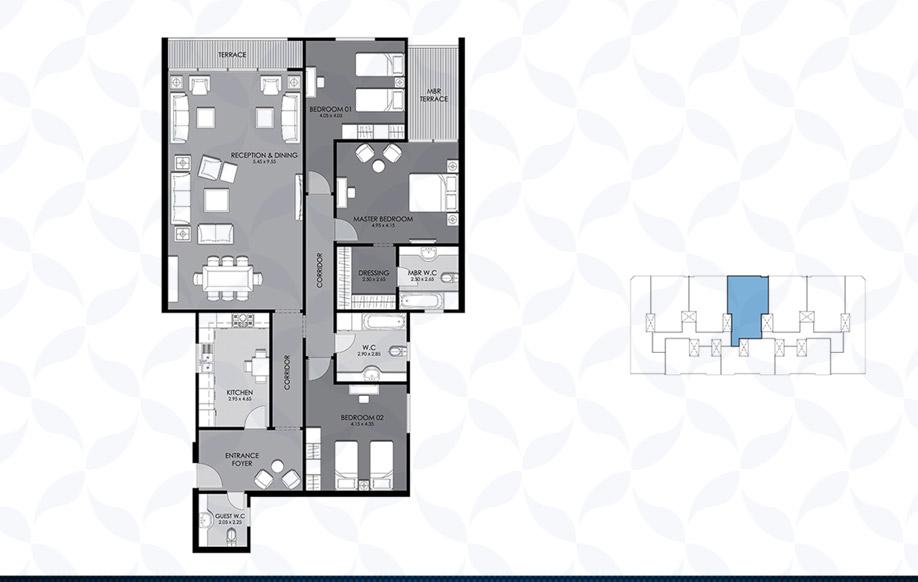 Typical Floor - Type - A & B II