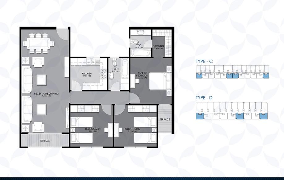 Typical Floor - Type - C & D II