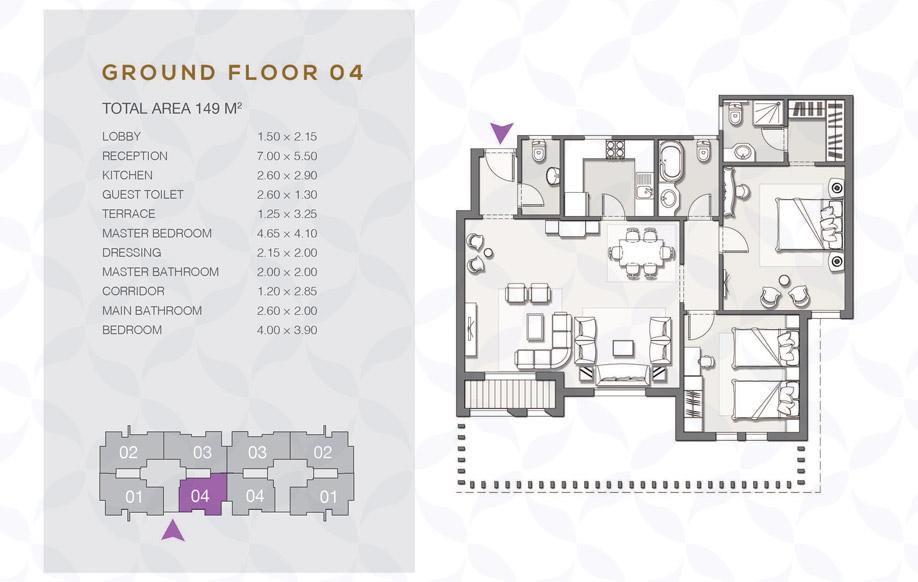 Type B - Ground Floor - 04 II