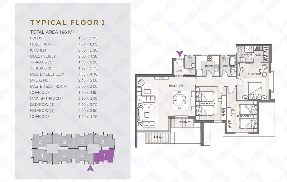 Type B - Typical Floor - 01