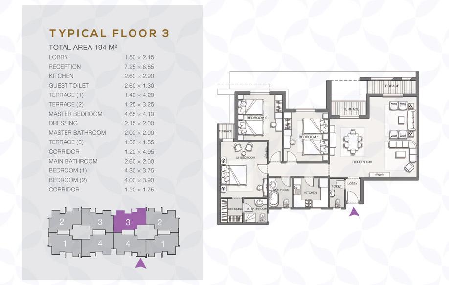 Type B - Typical Floor - 03