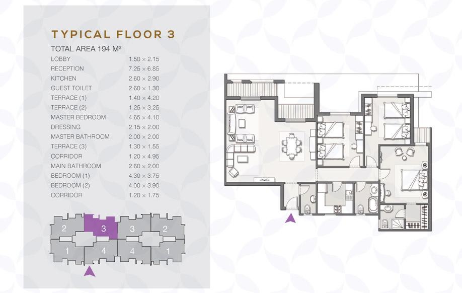 Type B - Typical Floor - 03 II