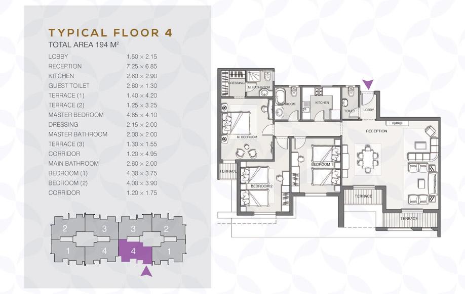 Type B - Typical Floor - 04