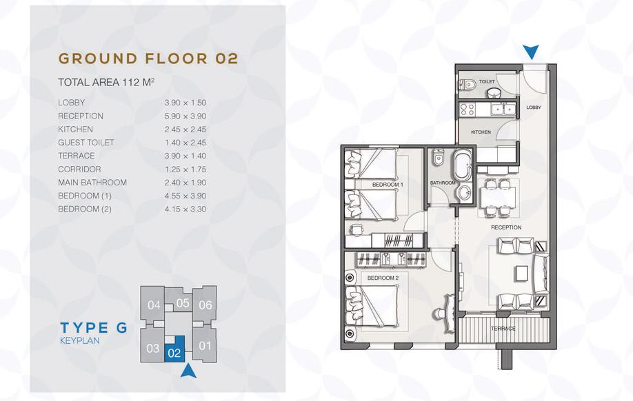 Type G - Ground Floor - 02