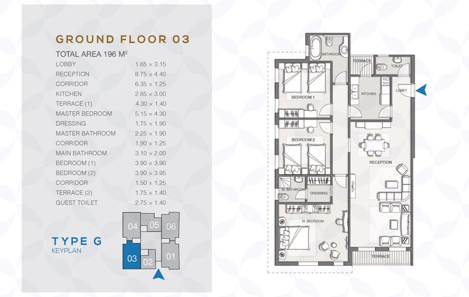 Type G - Ground Floor - 03