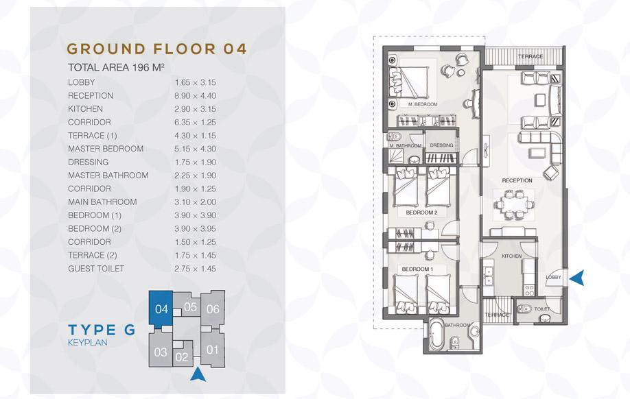Type G - Ground Floor - 04