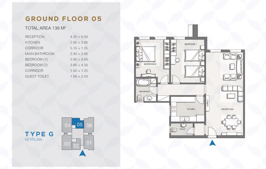 Type G - Ground Floor - 05