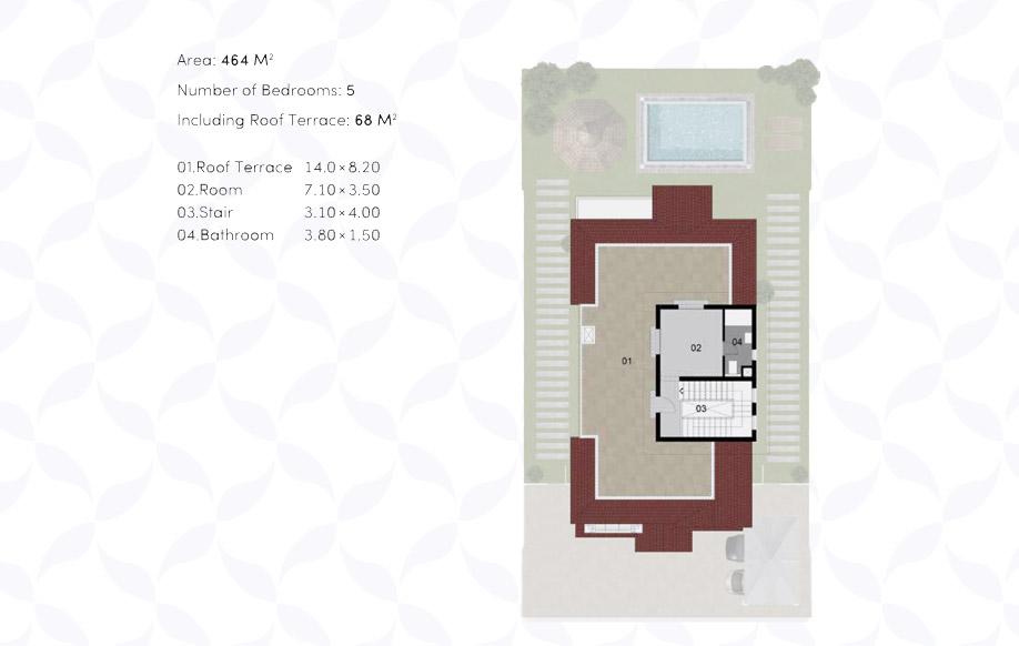 VILLA ' A ' - Penthouse