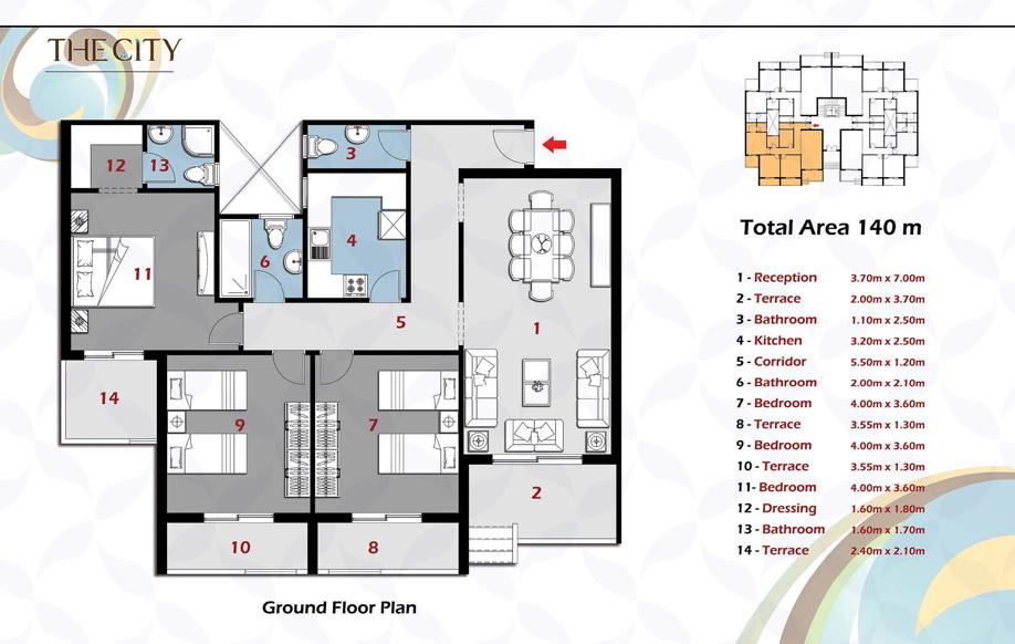 Apartment A Ground Floor
