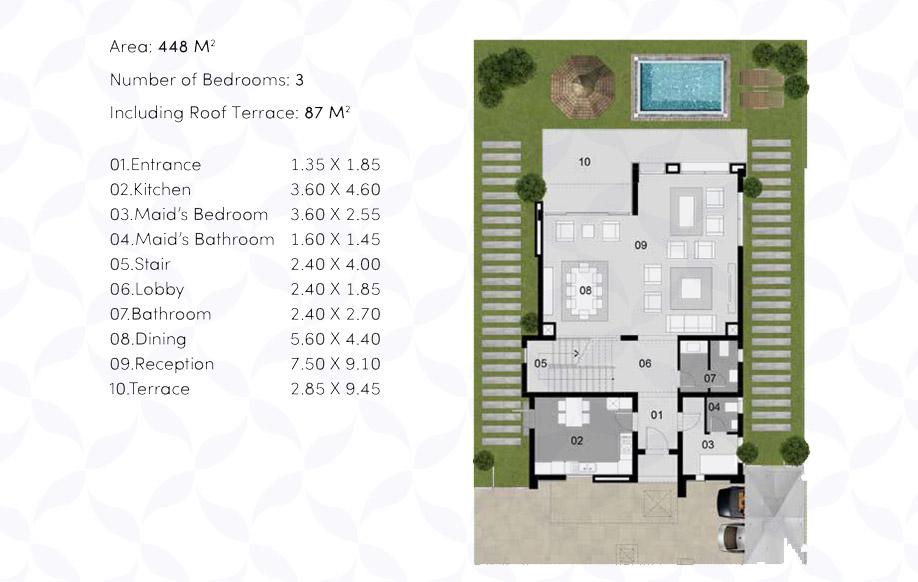 Villa 'BS' - Ground Floor