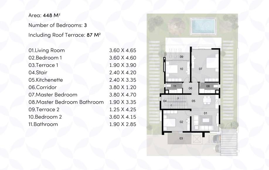 Villa 'BS' - First Floor