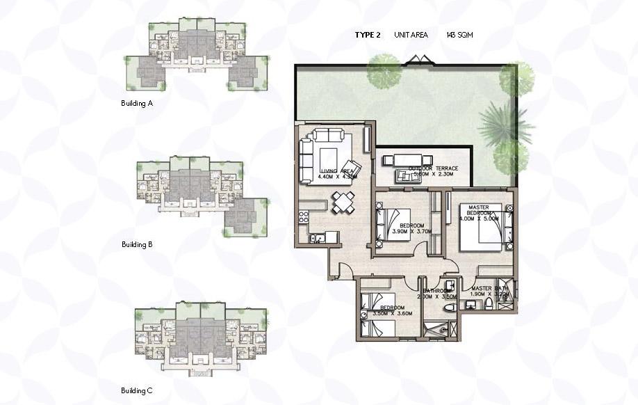 كوست 82 شقق سكنية - نوع 2