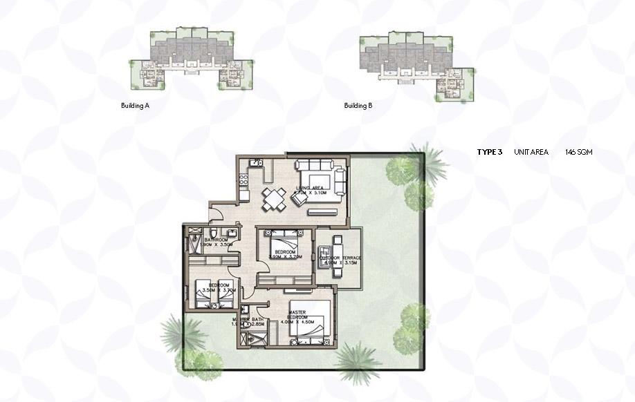 كوست 82 شقق سكنية - نوع 3
